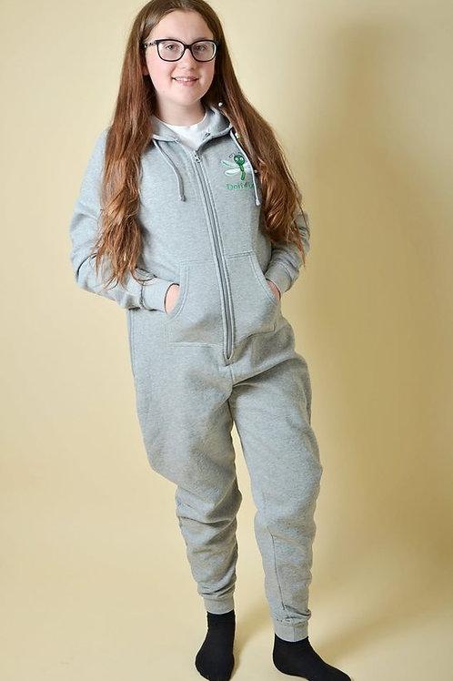 Kids Grey Doit4Loui Onesie