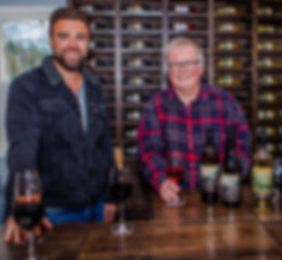 Lucas Hogler & Eric Urquhart at Country Vines Wnry