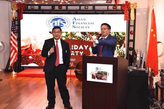 美国亚洲金融协会举办节日庆祝晚会,复友应邀出席