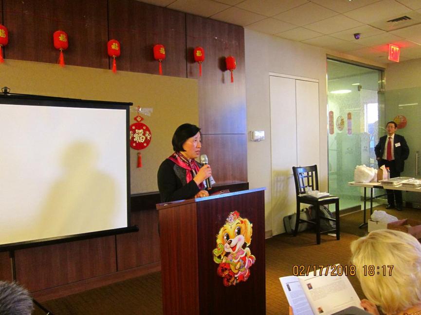 JEI合伙人郭楸博士发表演讲。