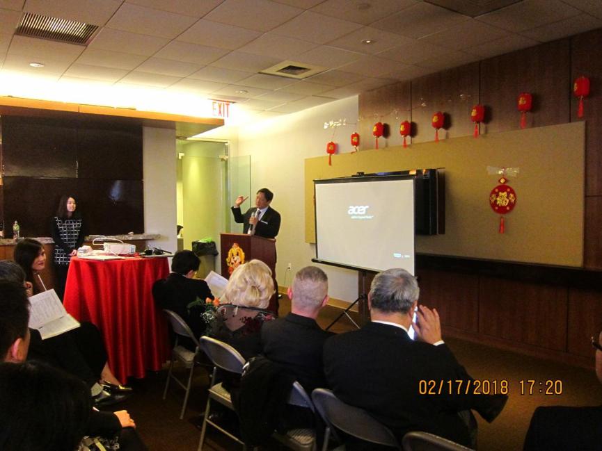 Phase Capital朱宁博士发表演讲。
