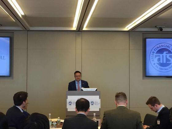 复友合伙人支持美国亚洲金融协会金融科技活动Alpha Award竞赛颁奖活动