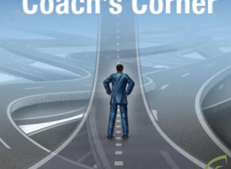 Coach's Corner - How Do We React?