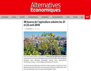 Article web - Alternatives économiques