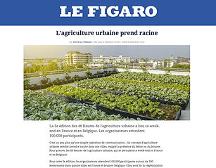 Article de presse - Le Figaro