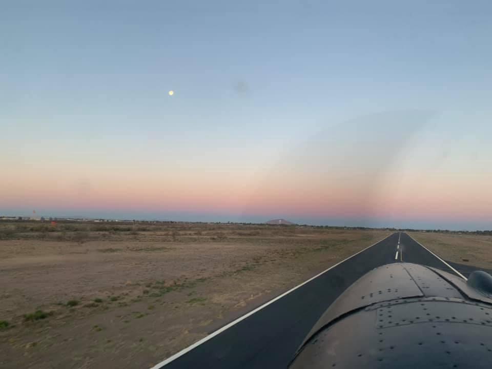 Sunrise departure KDMN