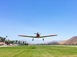 Takeoff from Flabob