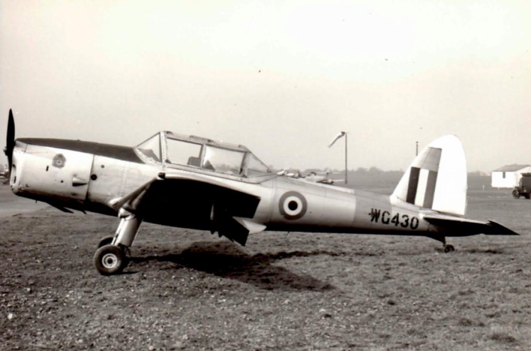 RAF Bovigdon 1957. Courtesy Rod Brown.