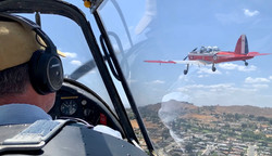 Formation flying with WP833