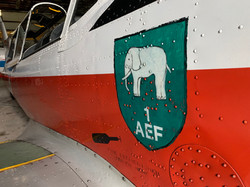 The emblem of Number 1 AEF