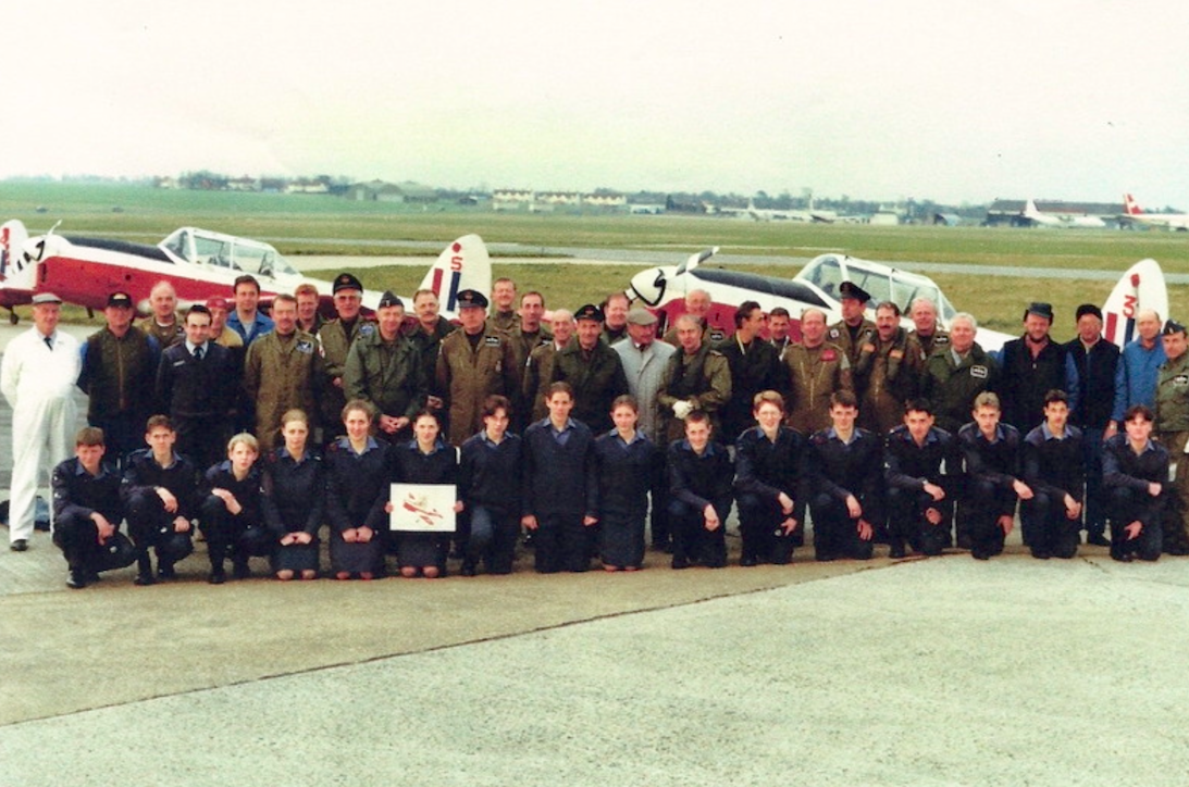 WG430 at RAF Manston in the 1990's