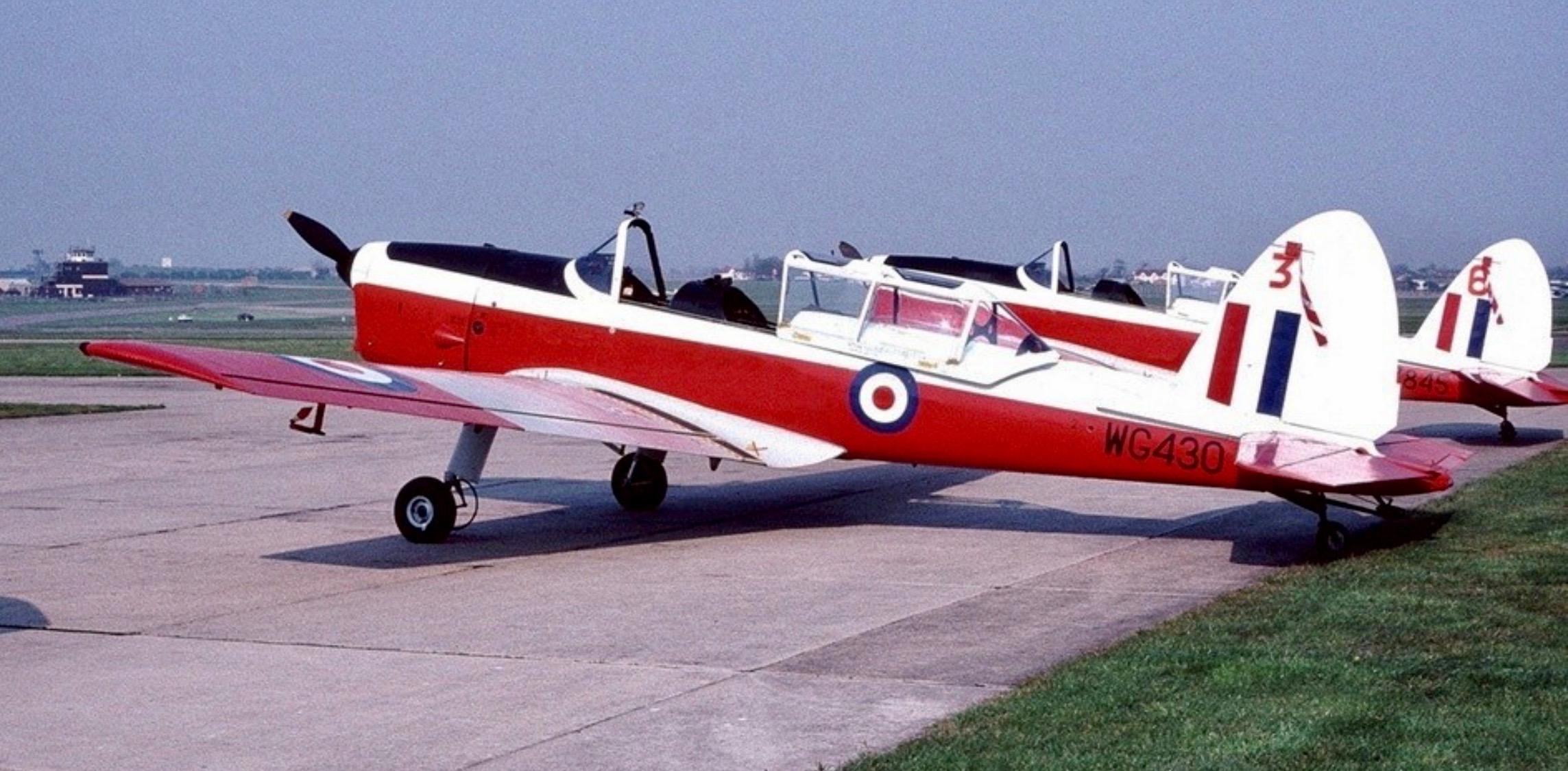 RAF Manston mid 80's (Duncan Curtis)