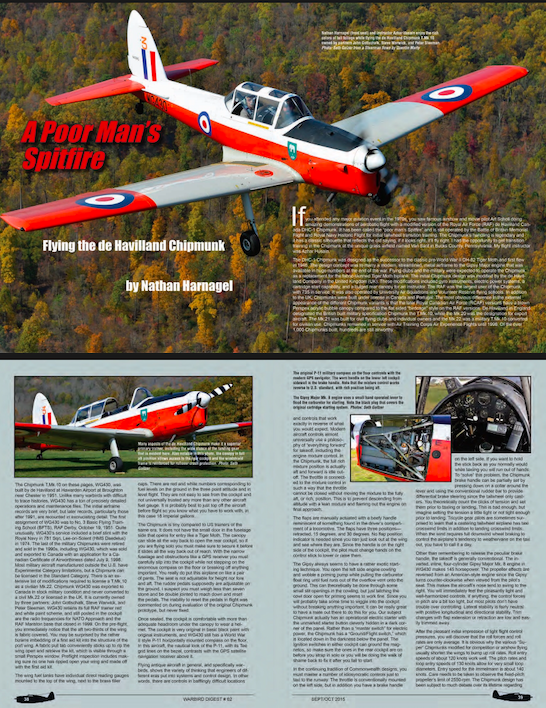 Warbird Digest Article