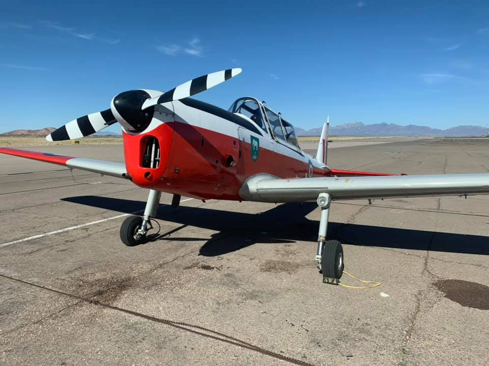 On the ground at Las Cruces NM