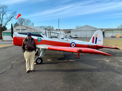 Wonderful tailwheel instructor Azhar