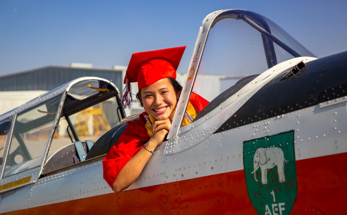 Graduation photo, Daisy Garcia