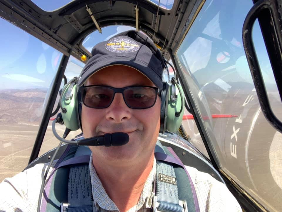 Last leg, happy pilot.
