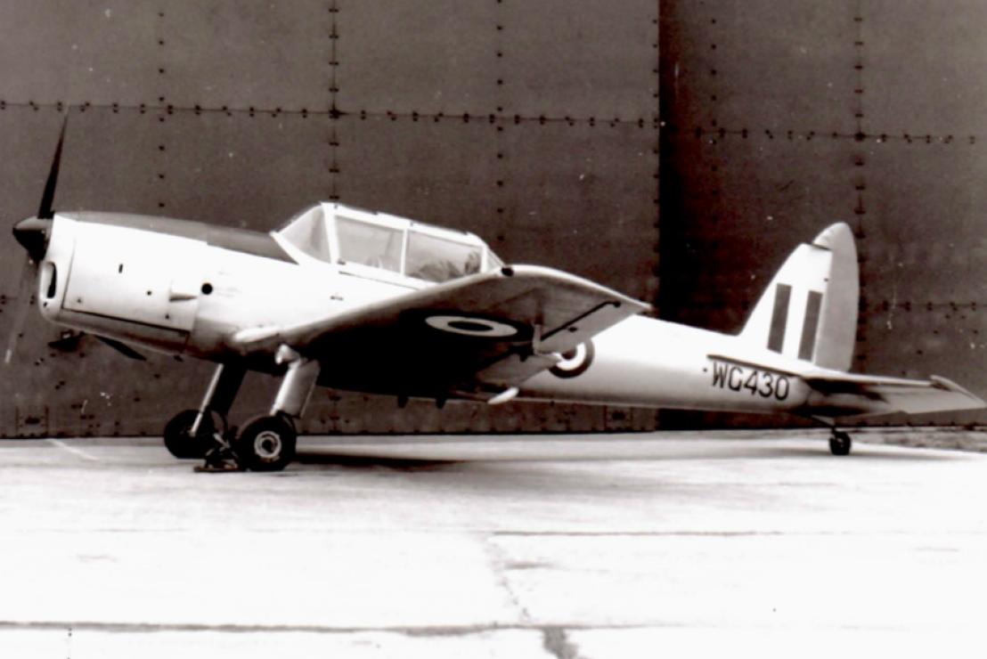 WG430 in 1960. Courtesy Rod Brown.