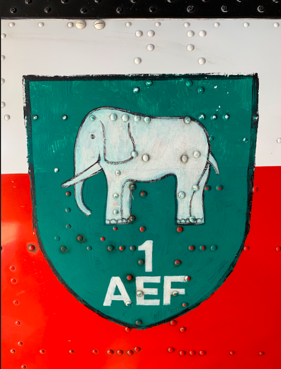 "The original ""elephant"" emblem from AEF2"