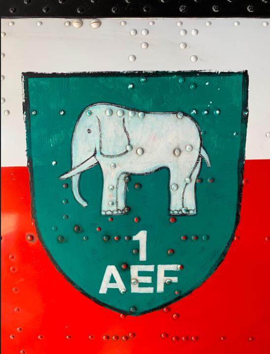"""The original """"elephant"""" emblem from AEF2"""
