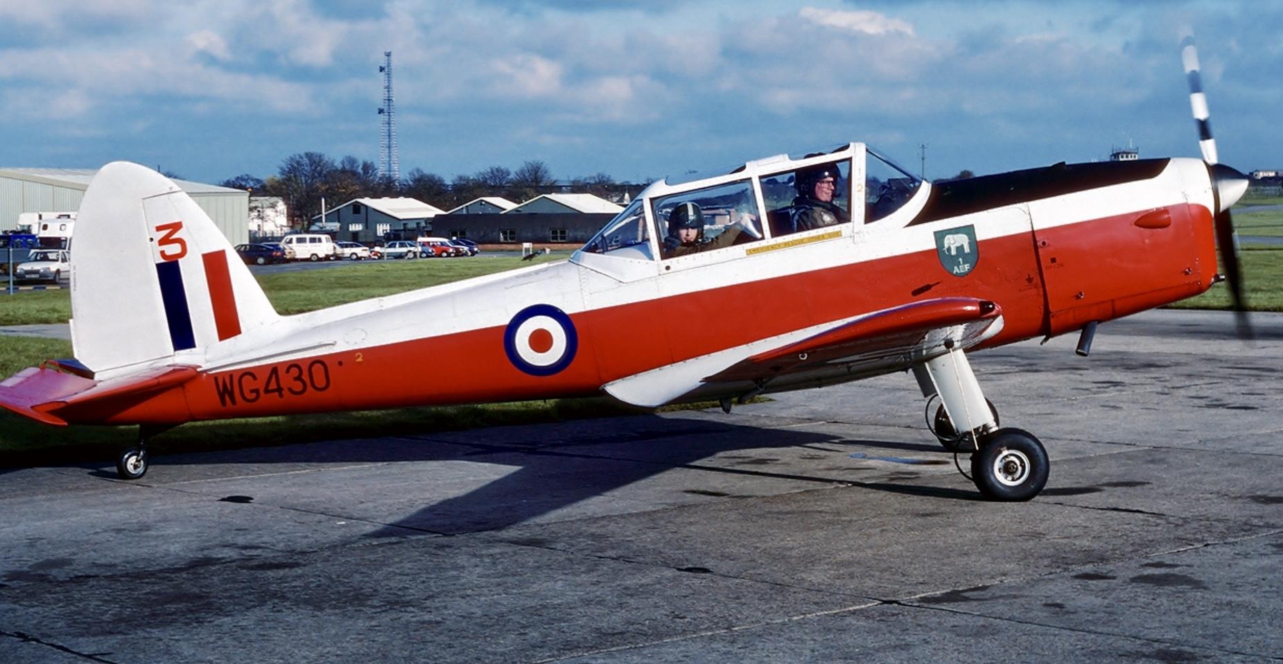 Circa 1980's - AEF1 at RAF Manston