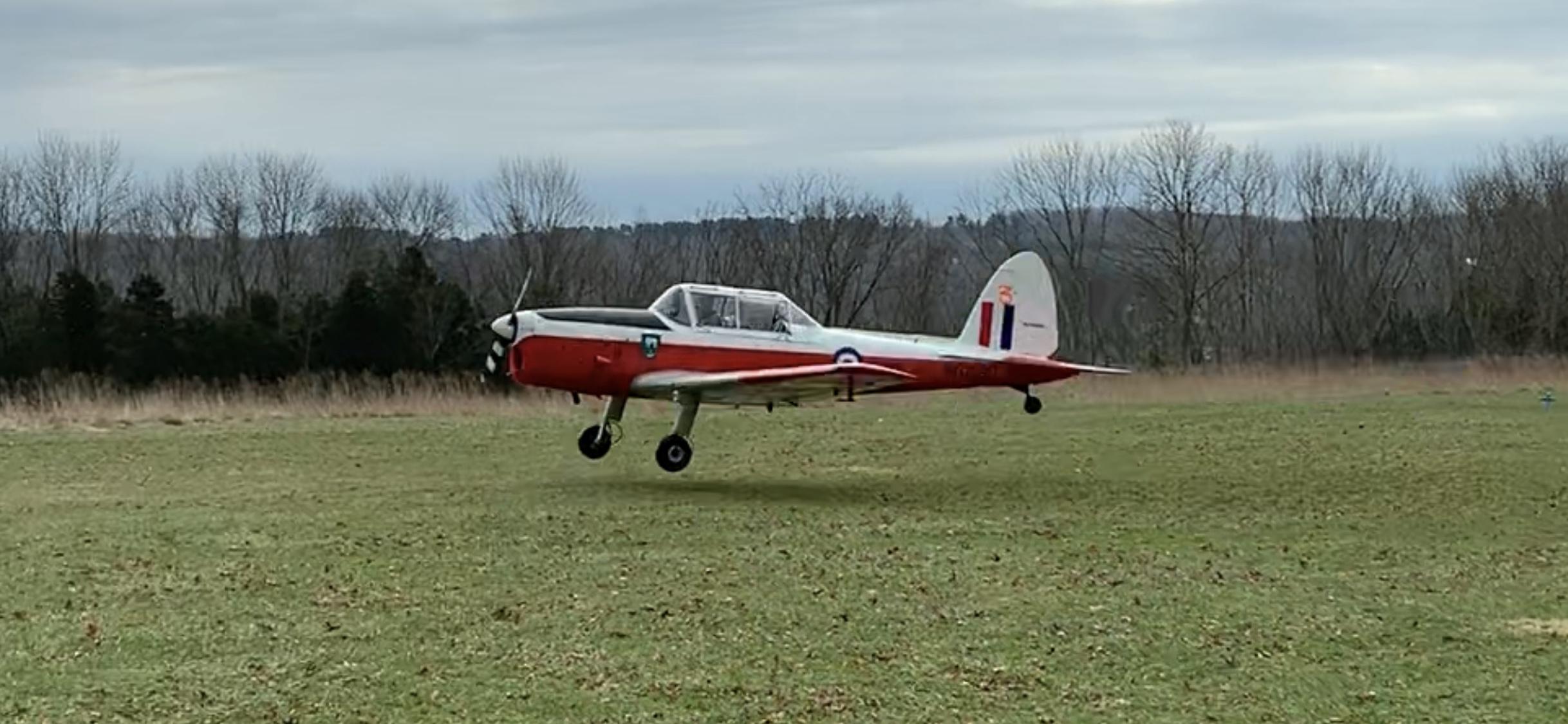 Flying out of Van Sant in 2018