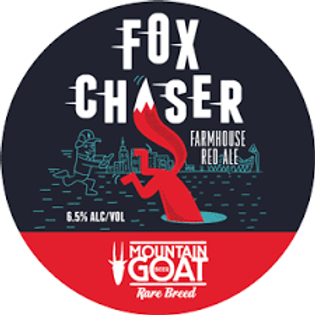 Mountain Goat Fox Chaser abv6.5%  50 Litres