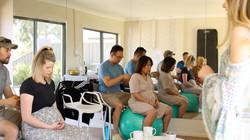 Light touch massage