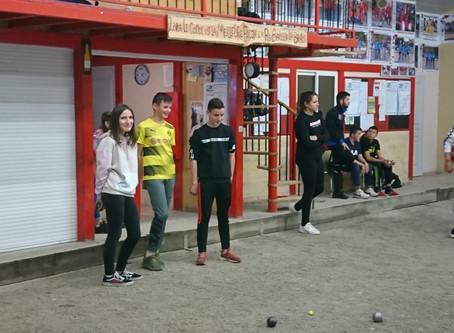 Championnat du Gers UNSS de Pétanque à Aignan