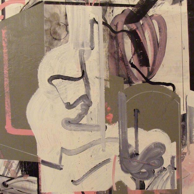 Birth of Gandesha 2 acrylic 40x30
