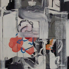 Birth of Ganesha #3 acrylic 40x30