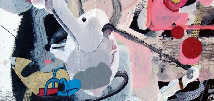 Bubblepipe Bunny acrylic 16x20