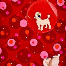 Dog Act mixed media 48x36