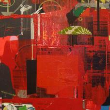 Red Studio acrylic  16x20