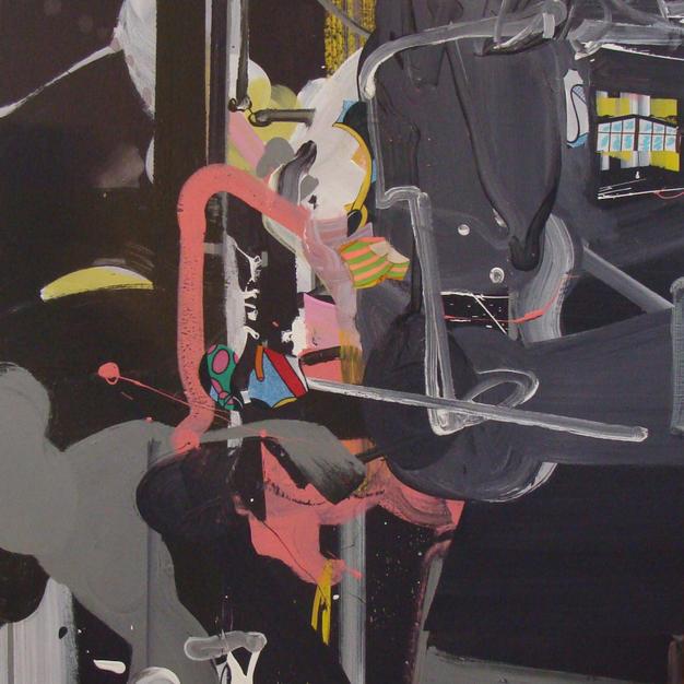 Studio Dance #3 acrylic 30x40