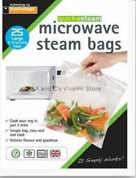 Quickasteam Microwave Steam Bag
