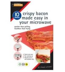Microwave Crispy Bacon Sheets