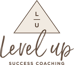 Level Up Success LOGO Brown and Cream.pn