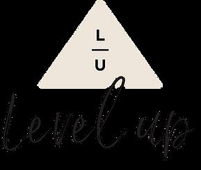 Level Up Success LOGO ALTERNATE Cream sm
