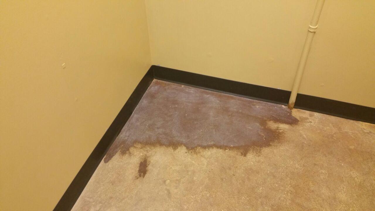 Floor Corner: BEFORE