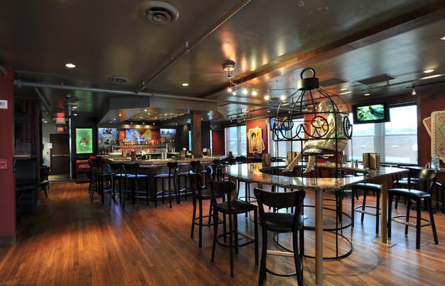 Second Floor Bar: After