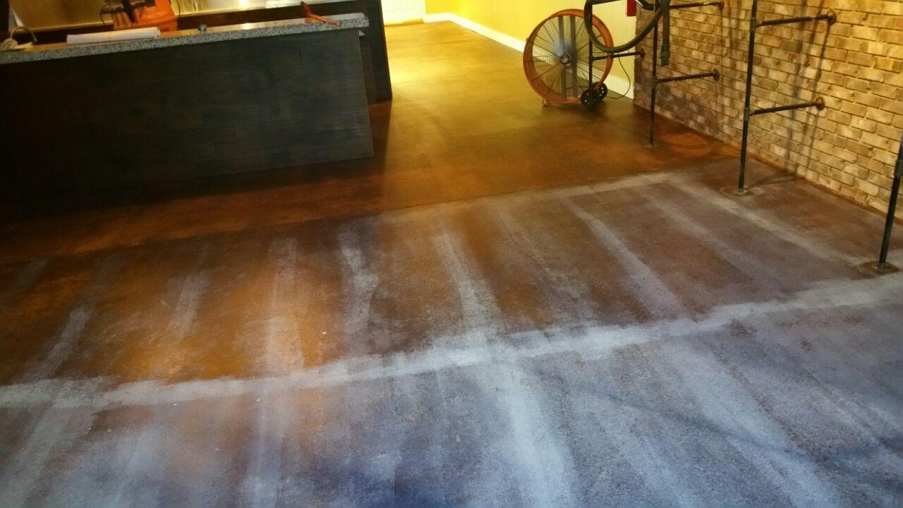 Foyer Floor Job: DURING