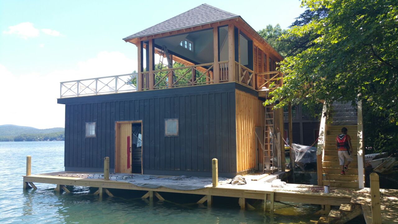 Lake House Paint: CLOSE TO END