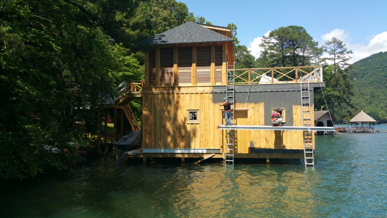 Lake House Prep & Paint