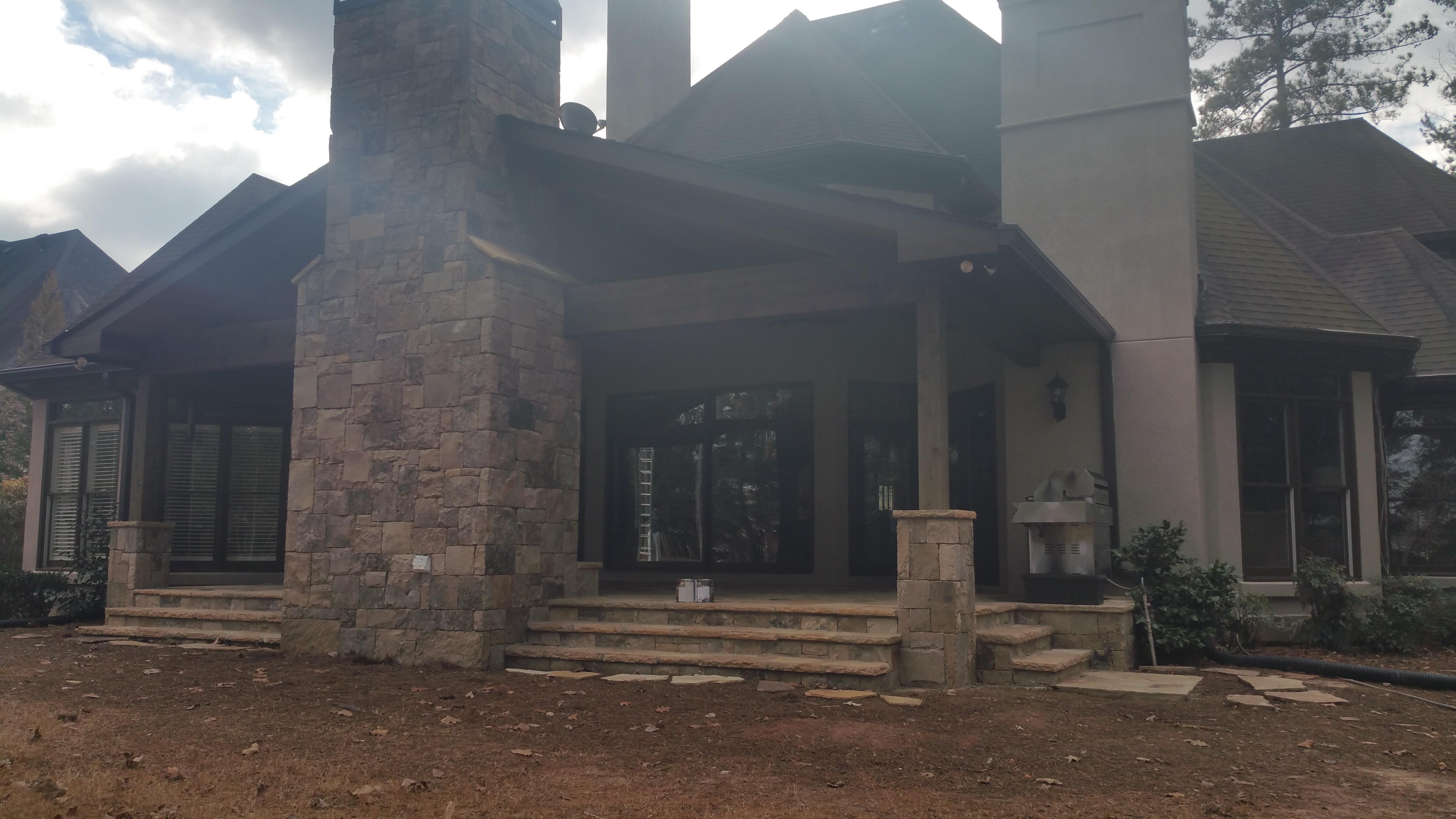 Back Porch Refinish
