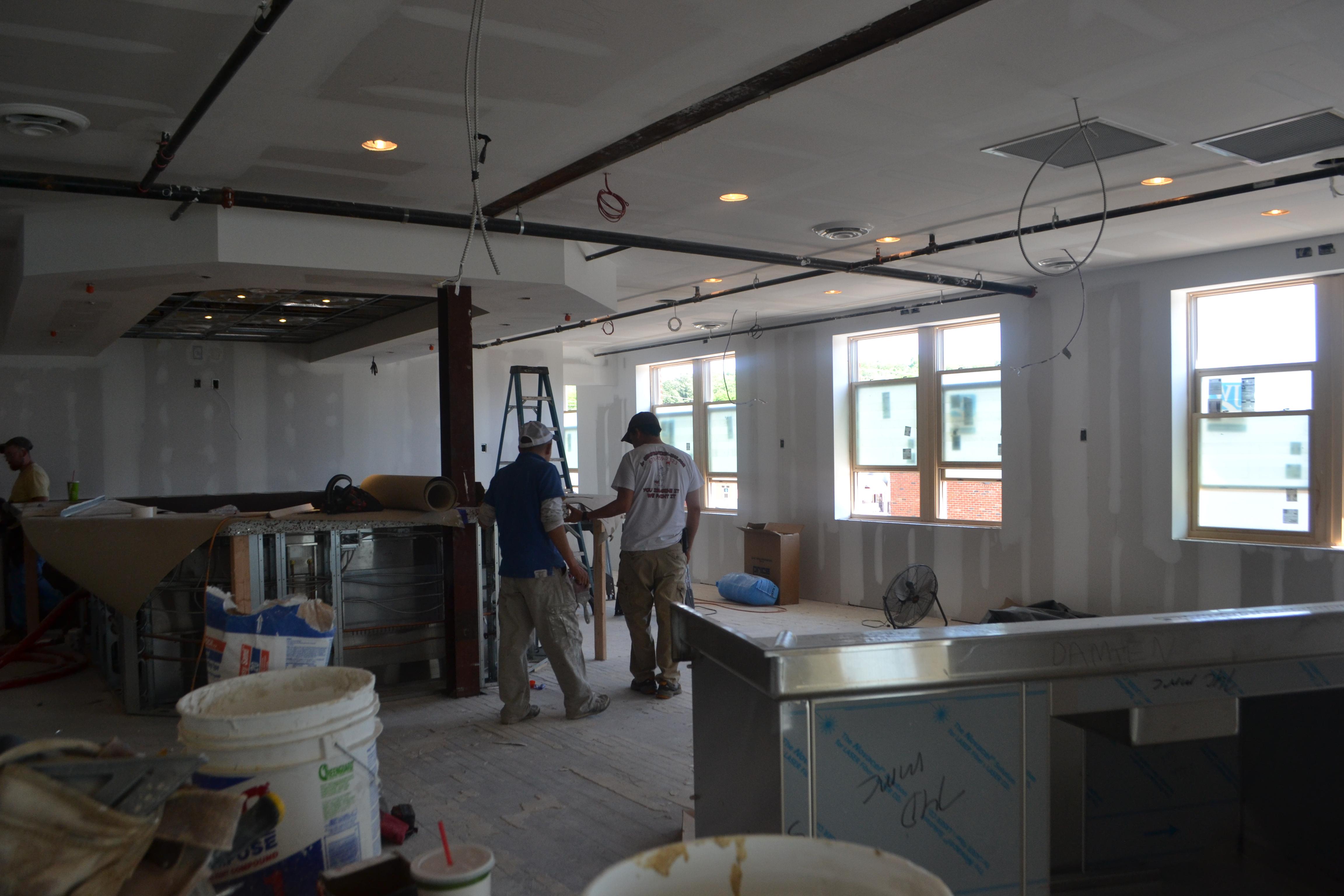 Second Floor: Before