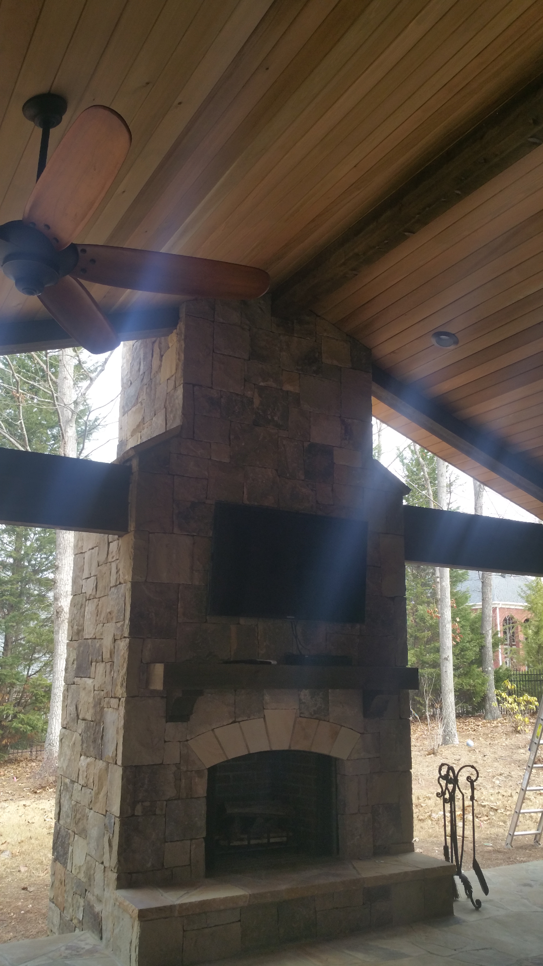 Exterior Porch Refinish