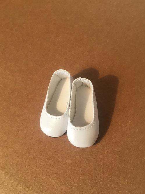LD White Slip on Shoe