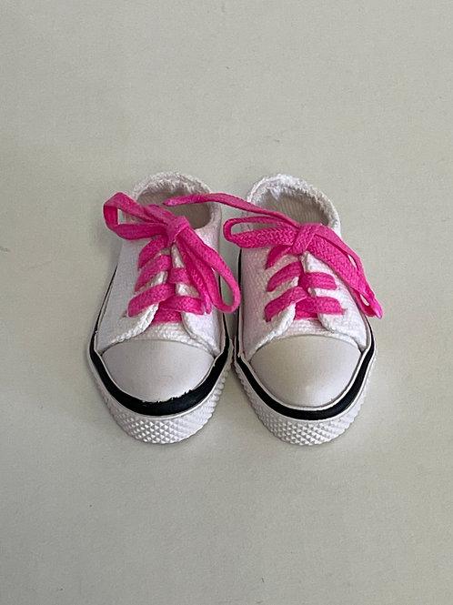 LD Tennis Shoe w/colored shoestrings