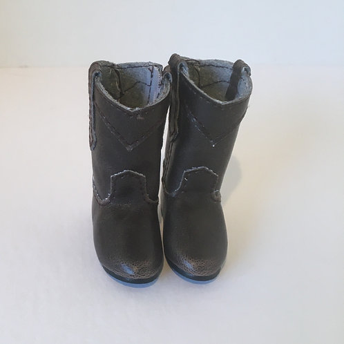 LD Dark Brown Cowgirl Boots